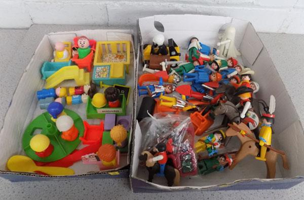 70's Fisher Price Little People & others/70's Gestra Playmobil