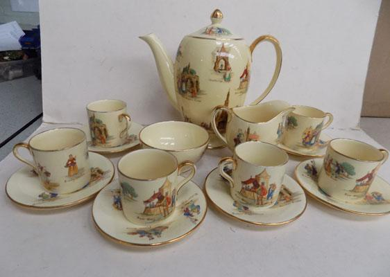 Royal Winton Coffee Set