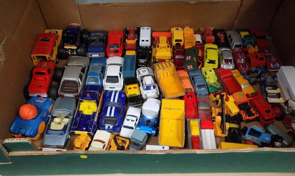 Box of die-cast
