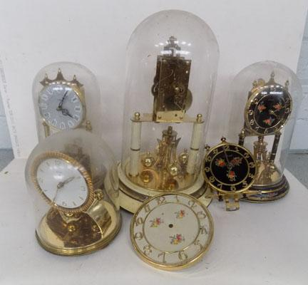 Box of dome clocks