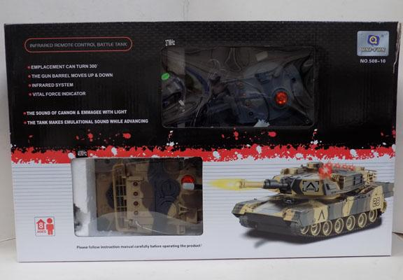 Infrared Remote Control Battle Tanks, used once