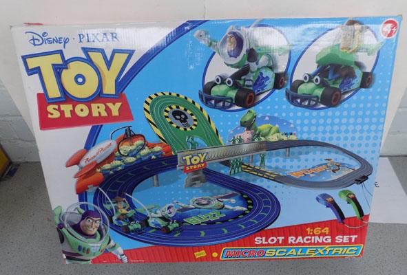 Disney toy story scalextrix