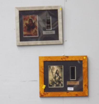2x Lord of the Rings pictures & film cells (limited edition)
