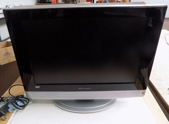 Wharfedale TV with DVD player W/O