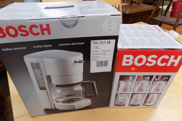 1 kettle & coffee maker, new
