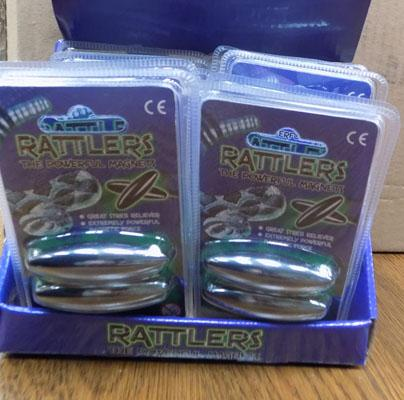 Box of 12 Rattle Magnet sets