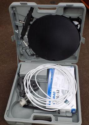 Portable satellite system
