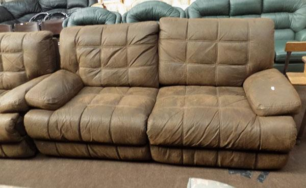2x3 seater and chair reclining set