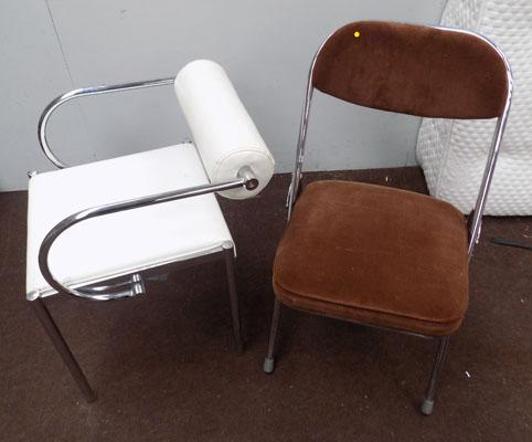 2x Retro chairs
