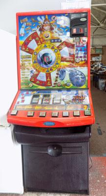 Barcrest Fruit Machine, high flyer jackpot £5.00 with keys