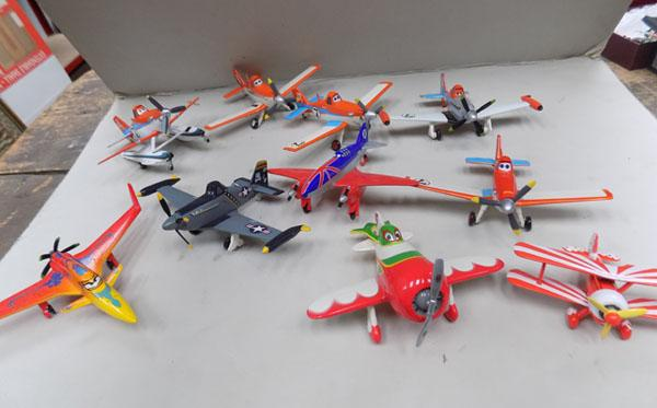 Box of Dinky Toy Story Planes