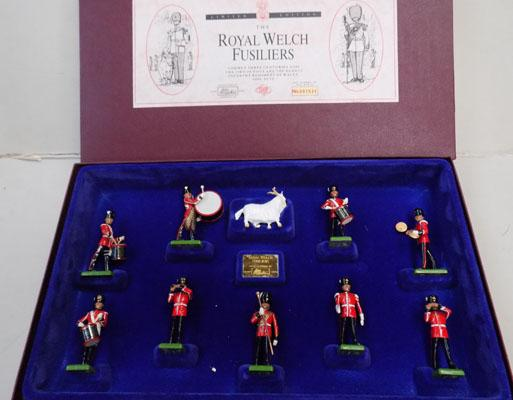 Boxed set of Royal Welsh Fusiliers