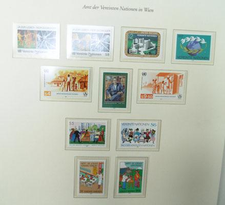 2 albums of European stamps