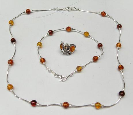 925 stamped necklace earrings and bracelet set