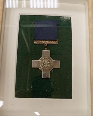 Framed George Cross (unknown)