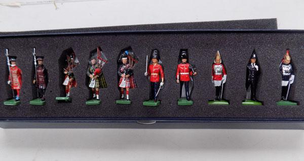 Boxed set of Britain's ceremonial collection