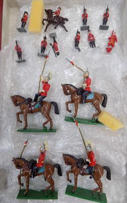 Soldiers - English Guardsmen & some household cavalry