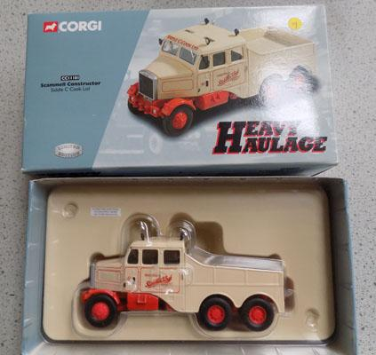 Corgi boxed Ltd Edition heavy haulage no. CC1101 Scammell Constructor