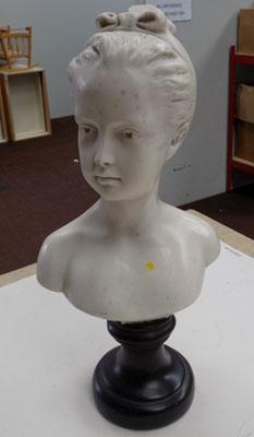 Bust of a girl