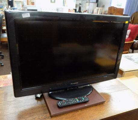Panasonic flat screen TV with remote