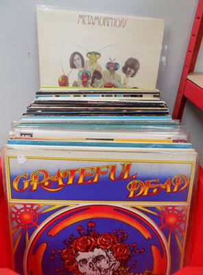 Box of LPs inc: Grateful Dead/Pink Floyd & Stones