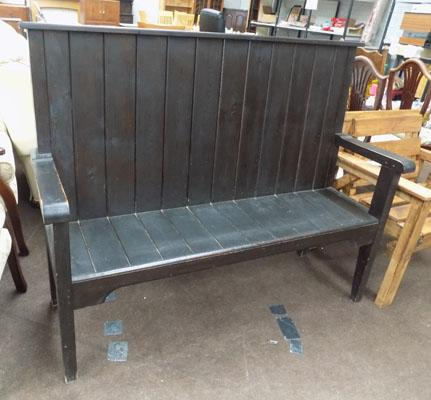 Large woven pew/settle
