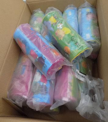 Box of Peppa Pig Pencil cases