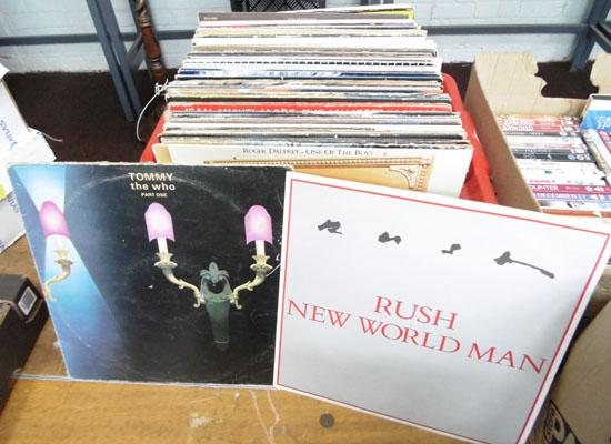 Box of 70's/80's albums