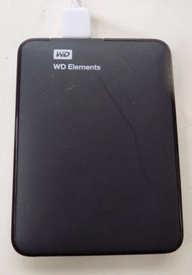 WD elements 500GB - working order