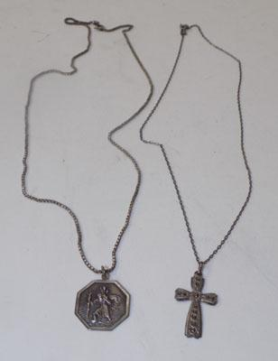 2 x Sterling silver necklaces