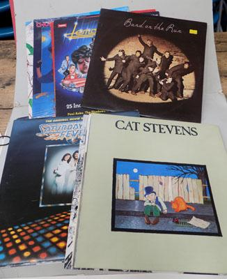 Small selection of LPs