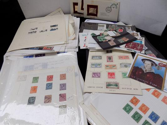 Box of mainly British stamps incl. earlier issues