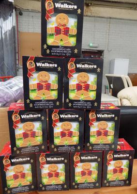 10x Boxes of Walkers, biscuits date 2018 rrp £8.99 each
