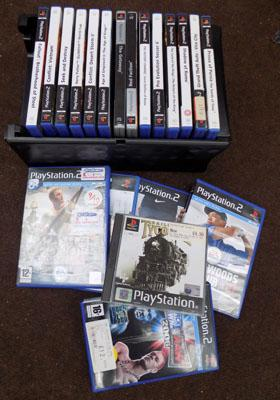 Approx 20 Play Station 2 games