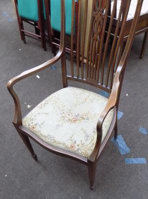Upholstered dining chair