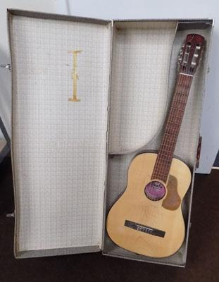 Acoustic guitar with case and new strings