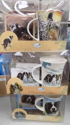 Three new cup gift sets