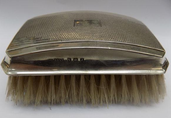 Sterling silver clothes brush - Birmingham 1933