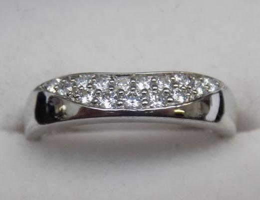 925 silver DQCZ ring - Size L