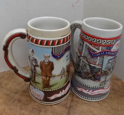 Two Millers Commemorative Tankards, 1986/87
