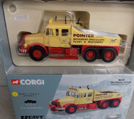 New and boxed Corgi heavy haulage No 17905 Scammell truck
