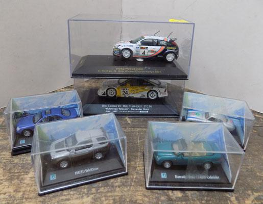 6x Boxed cars