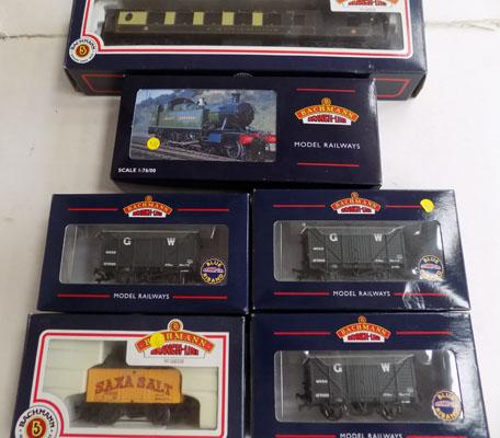 Collection of Backman railway items
