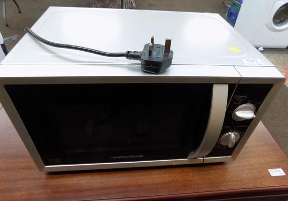 Morphy Richards microwave oven - W/O