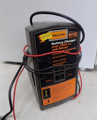 Challenge battery charger