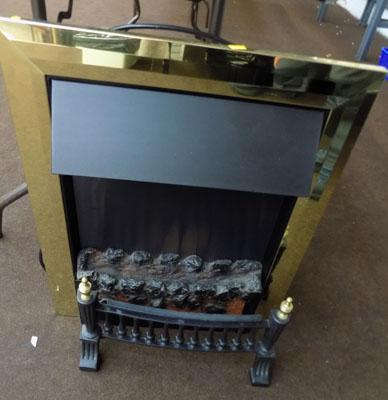 Fully working electric fire w/o