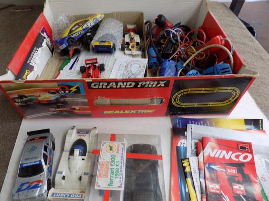 Scalextric & slot cars
