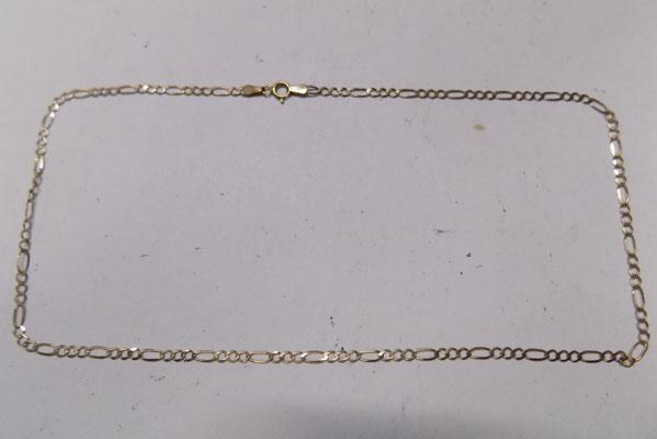 9ct gold chain 2.7g