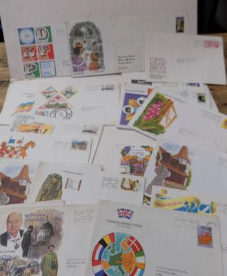 Small selection of first day covers