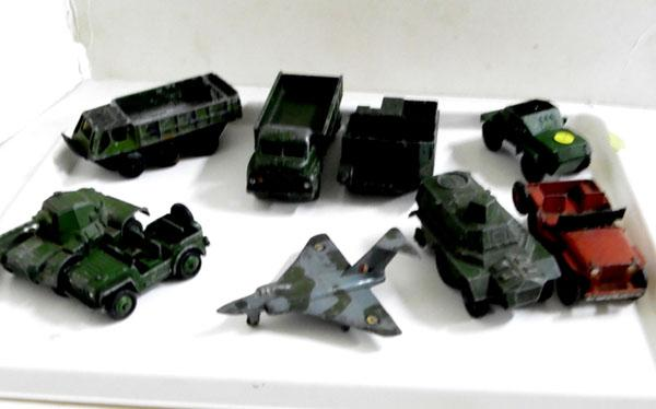 Vintage military Dinky collection 1950s - 60s